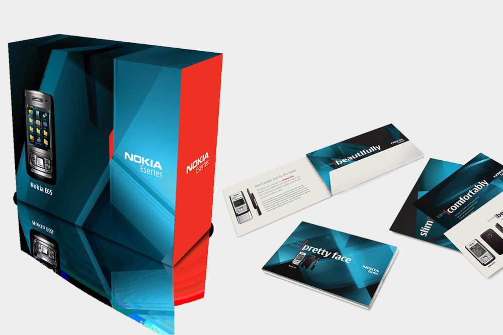 Nokia for Business package design