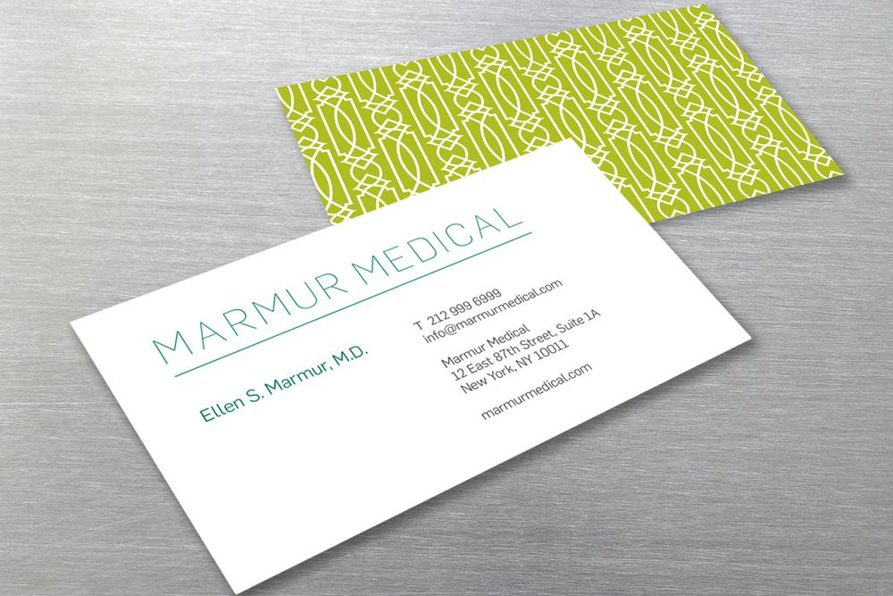 Marmur Medical brand identity