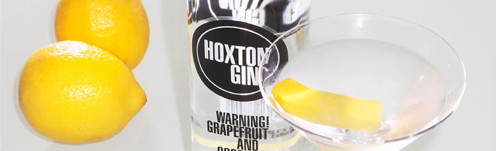 Hoxton Gin brand identity and packaging
