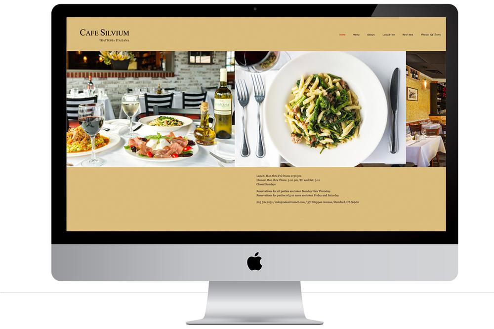 Café Silvium website