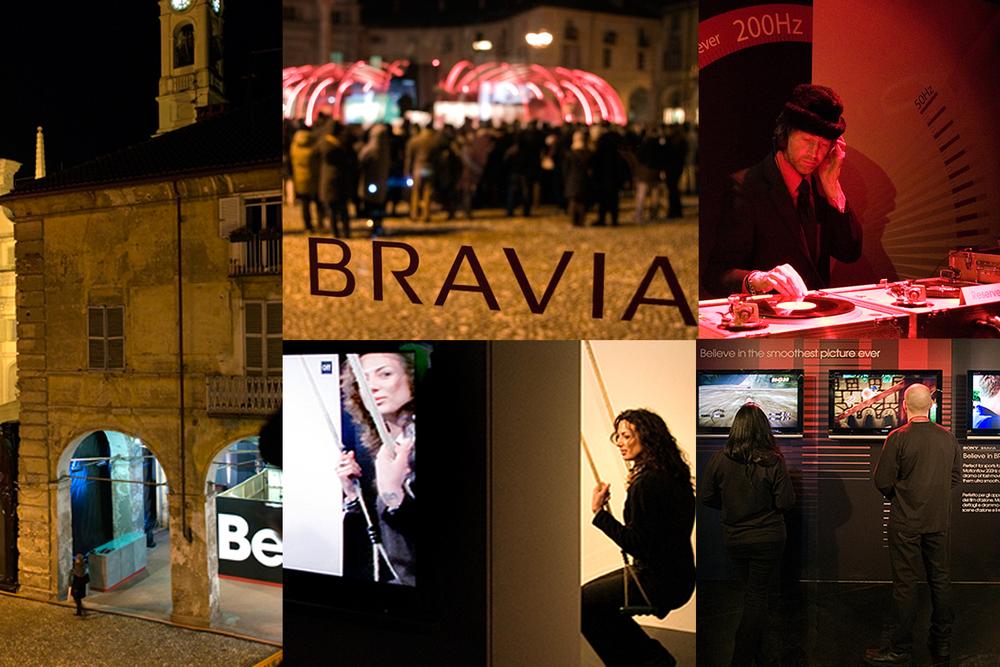 Sony Bravia Believe event