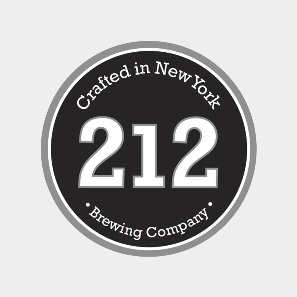 212 Craft Beer brand identity
