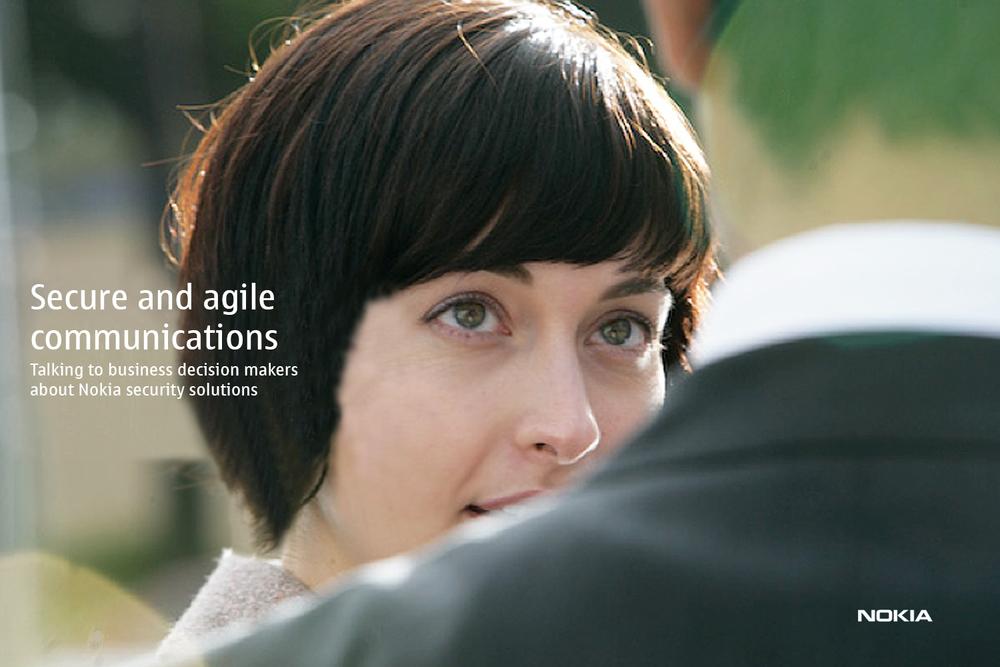 Nokia for Business brand identity