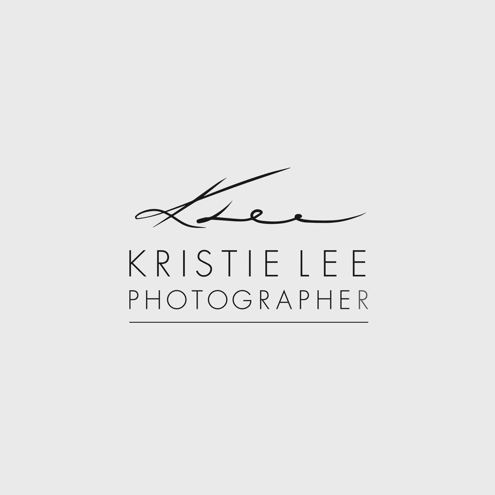 Kristie Lee Photographer logo & web design