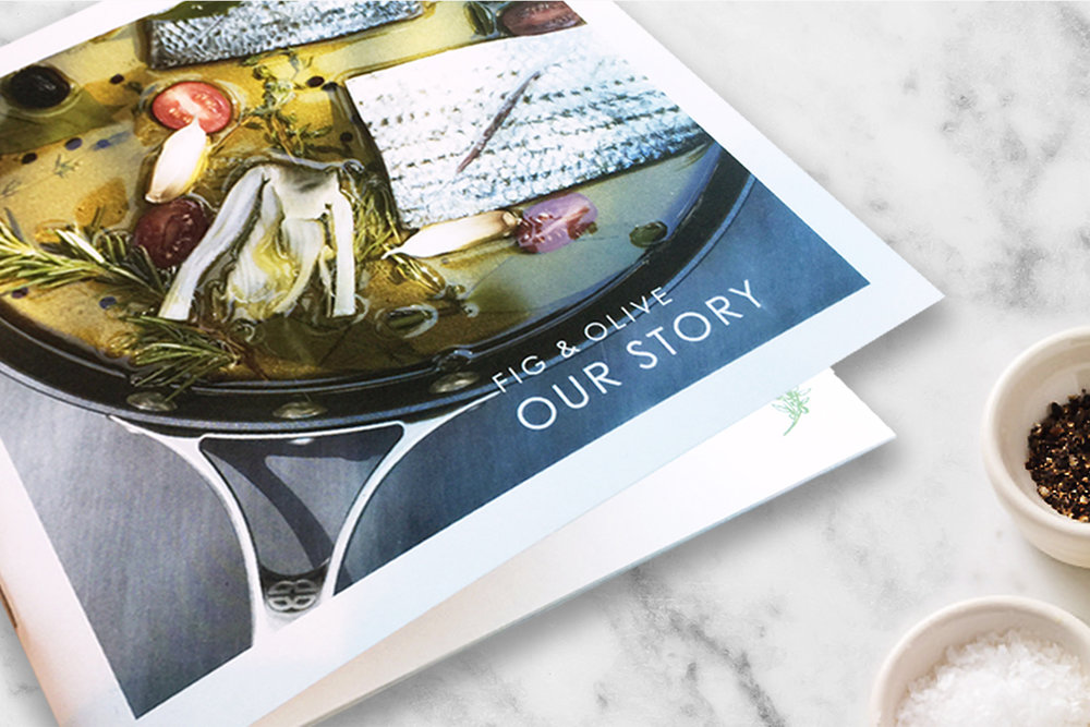 Fig & Olive brand book