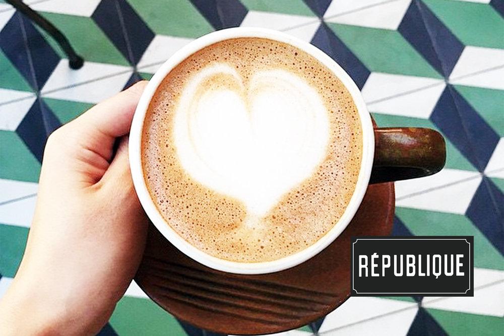 République brand identity