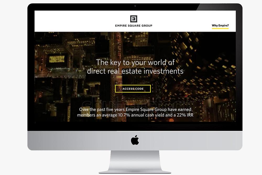 Empire Square Group website