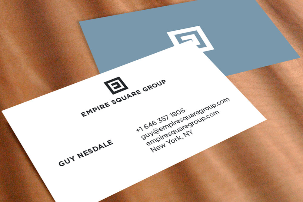 Empire Square Group business card