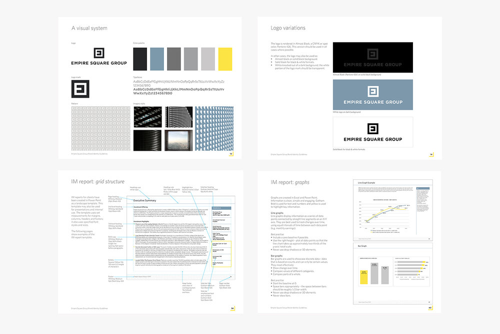 Empire Square Group brand guidelines