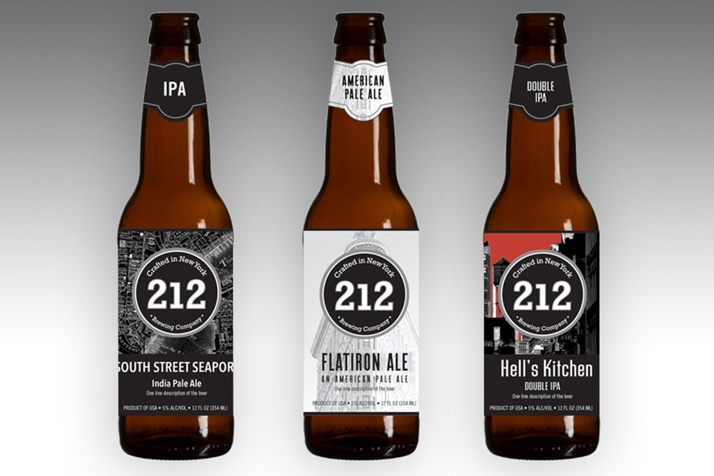 212 Brewing Company beer collection