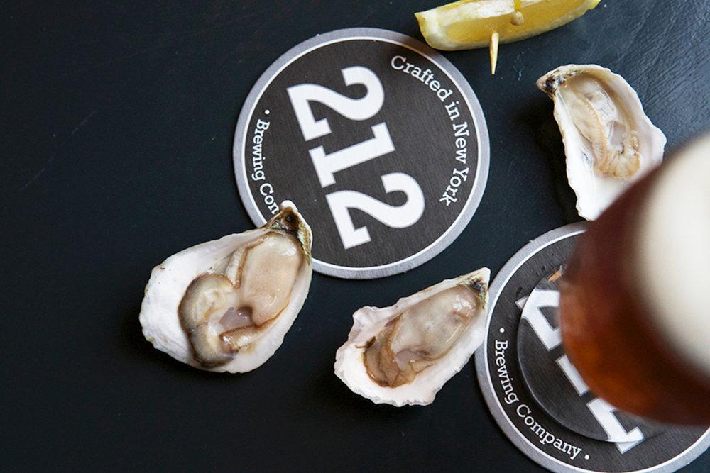 212 Brewing Company brand identity