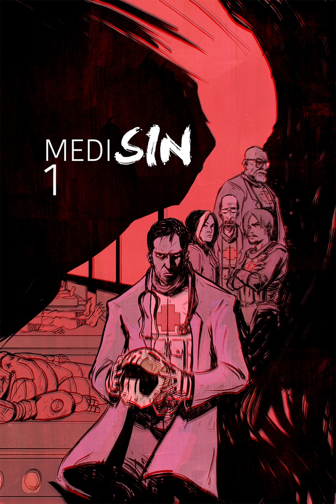Medisin - Who provides healthcare for super villains? E.R. meets Heroes.  A 6-part mini-series.