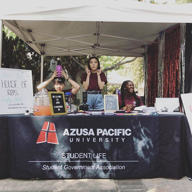Welcome Home, APU!! - We're so excited to have you where you belong! Come by our booth on Cougar Walk to see what's up this year. - #apusga #iheartapu #welcomehome #welcomeweekend #brickandblack #apu