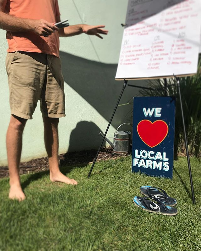 To kick off our team meeting we discussed our history and evolution of food habits. Quickly it became apparent how much quality of food and sustainability of our #foodsystems and #localeconomy means to the  Farmer Mark team. So now we ask you, why do YOU shop at #farmersmarkets?