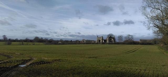 Leiston Abbey, Suffolk
