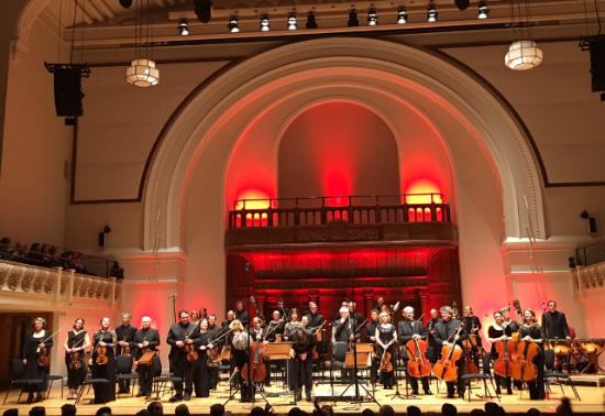 Academy of St Martin in the Fields concert at Cadogan Hall,Jan 2016