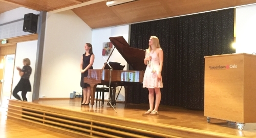 After performing MacMillan Seraph with Jen in the final concert