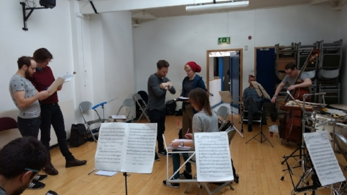 Rehearsing in East London