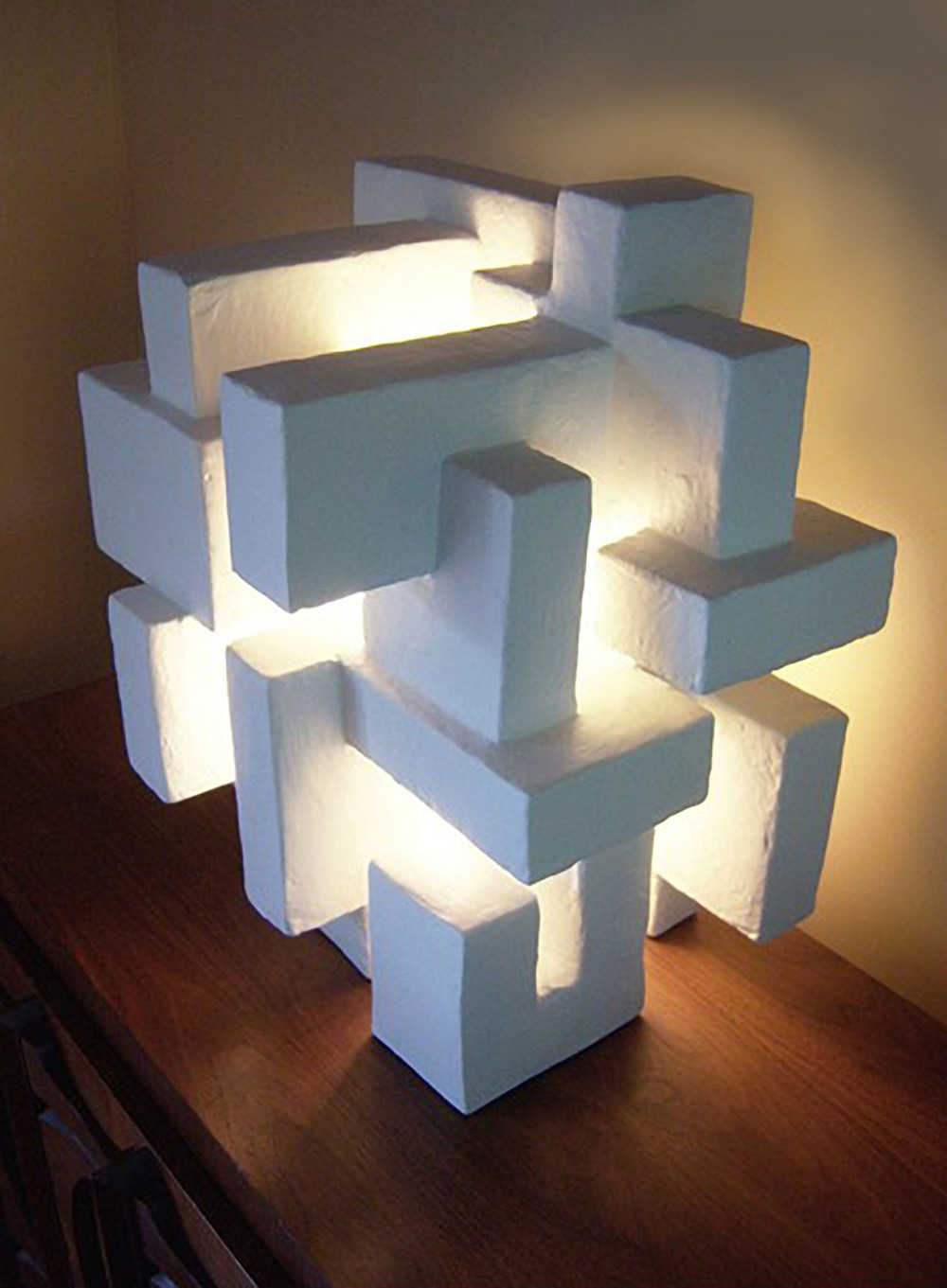 ABITARE LIGHT SCULPTURE, commission for hotel project, New York