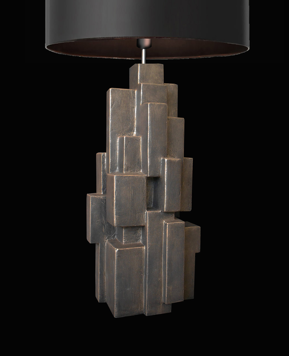 GEO TABLE LAMP, detail, 2018