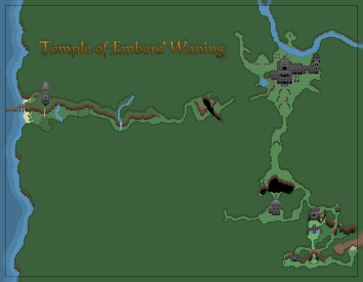 The starting map of the player.