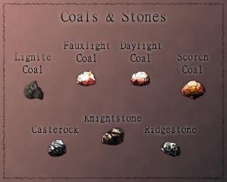 Coals & Stones