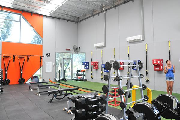 Thornbury gym layout