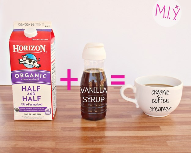 Homemade Organic Vanilla Coffee Creamer Recipe -MIY with Melissa