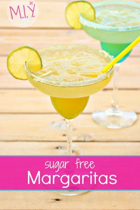 Homemade Sugar Free Margaritas -MIY with Melissa