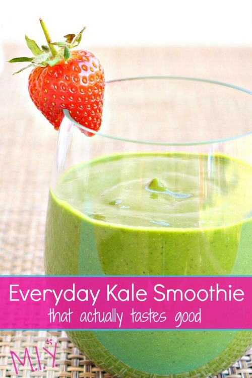 Kale Smoothie -MIY with Melissa