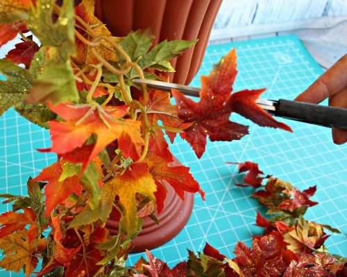 Fall Topiaries Tutorial -MIY with Melissa