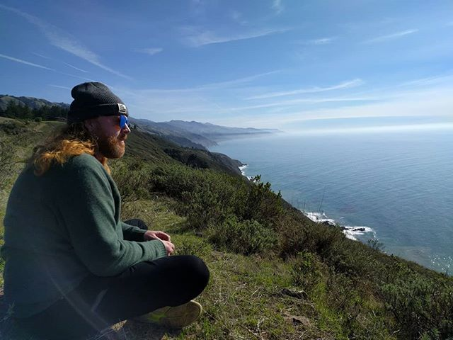 Just flying home from a week and a half of recording a new ambient record with this beautiful friend of mine in Big Sur. We summited mountains, skinny-dipped in secret ridge pools, got brutal poison oak, recorded about 50 gigs of songs and sounds, played Brian Wilson's piano, saw dolphins while soaking in a hot spring on a cliffside, ate a tonne of sweet food, met incredible humans living profoundly inspiring lives, and wrote some music that we can't wait to share. Words are dumb tonight. I tip my beer to @edwinhuizinga who sits in another terminal in the same airport probably sipping a beer too and reflecting on a life-changing 10 days. I truly couldn't have had a better person/musician/inspiration to share all that with. Thanks Eddie! Surround yourself with people who humble you. More to come about this journey but for now I'm going to try and write it all down on paper. Hope yer all well. I'm grrrrrreeatttttt!