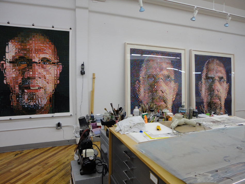Chuck Close Printing Studio