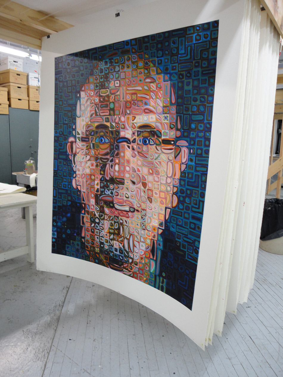 Edition Chuck Close prints