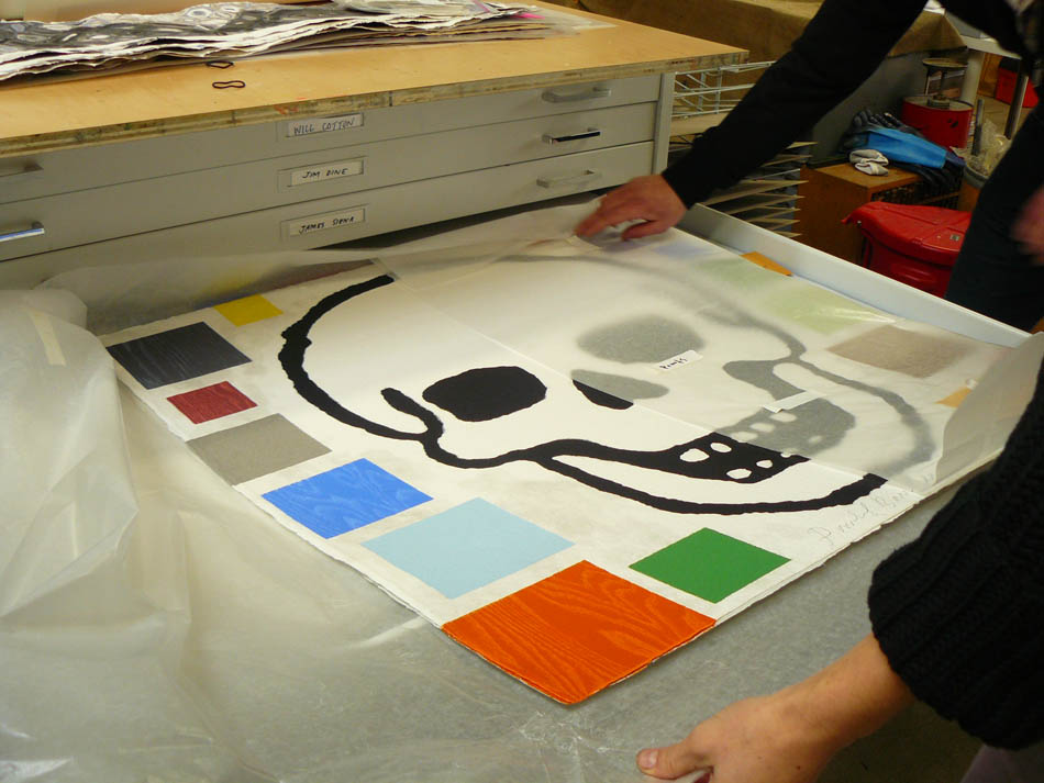 Pace Prints paper studio