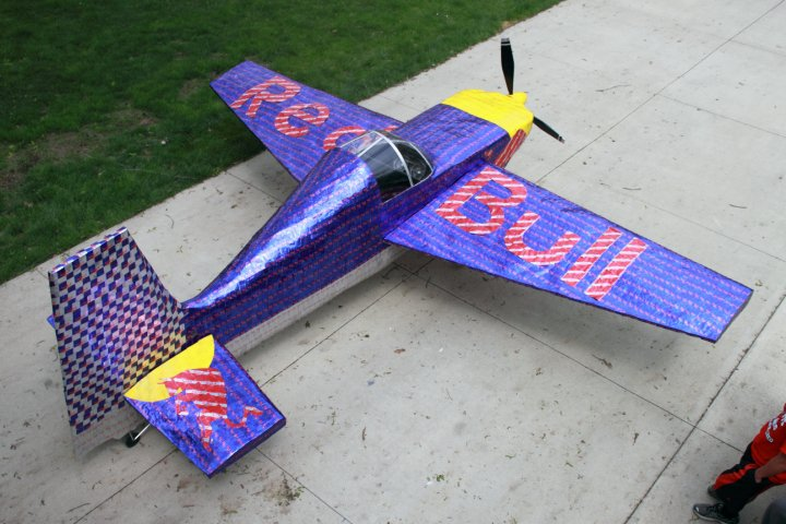 Ethan Carlson Red Bull Plane