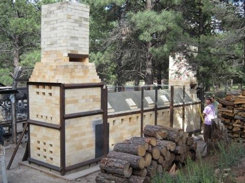 Northern Arizona University Switchback Kiln