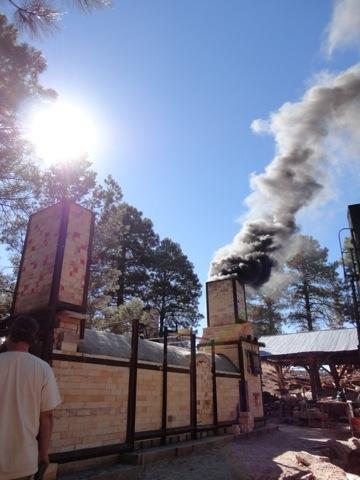Firing of the NAU Switchback Kiln