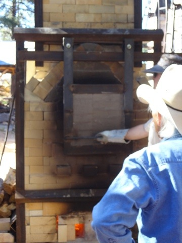 Don Reitz and NAU Switchback Kiln