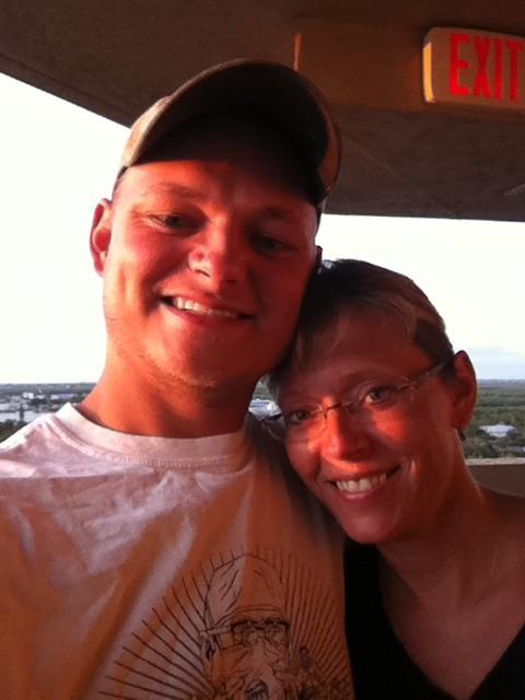 My mom (Lisa Roti) and I