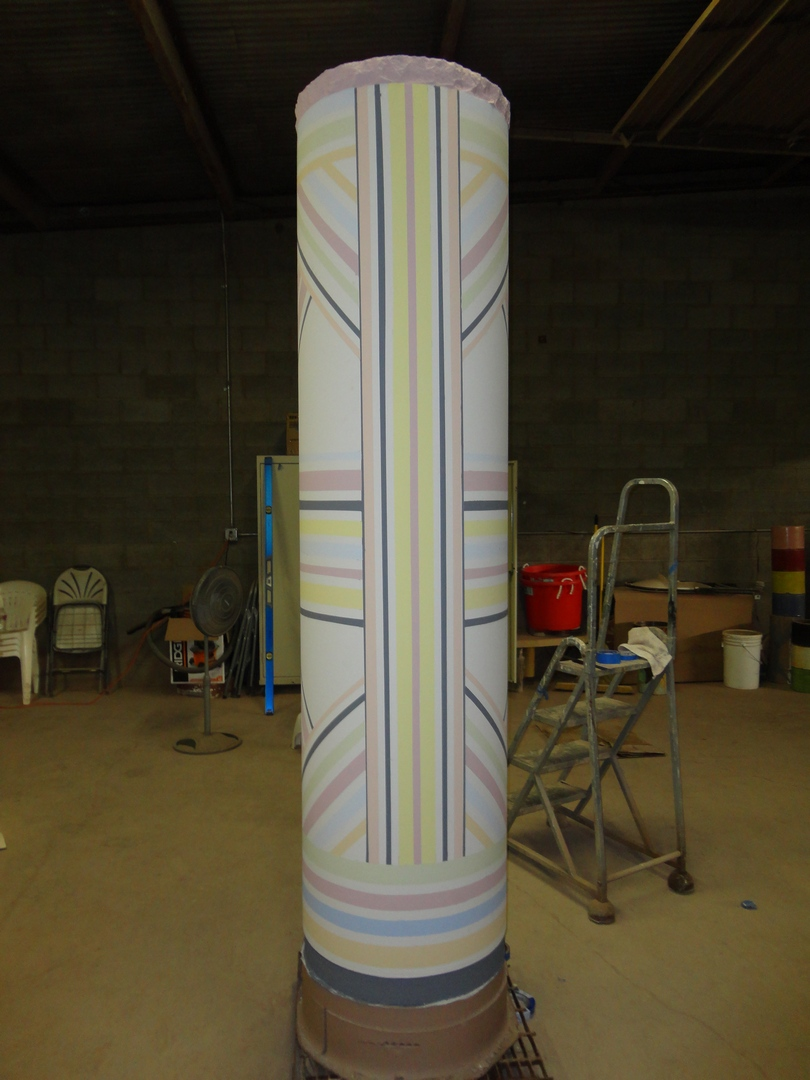 Patterned Column