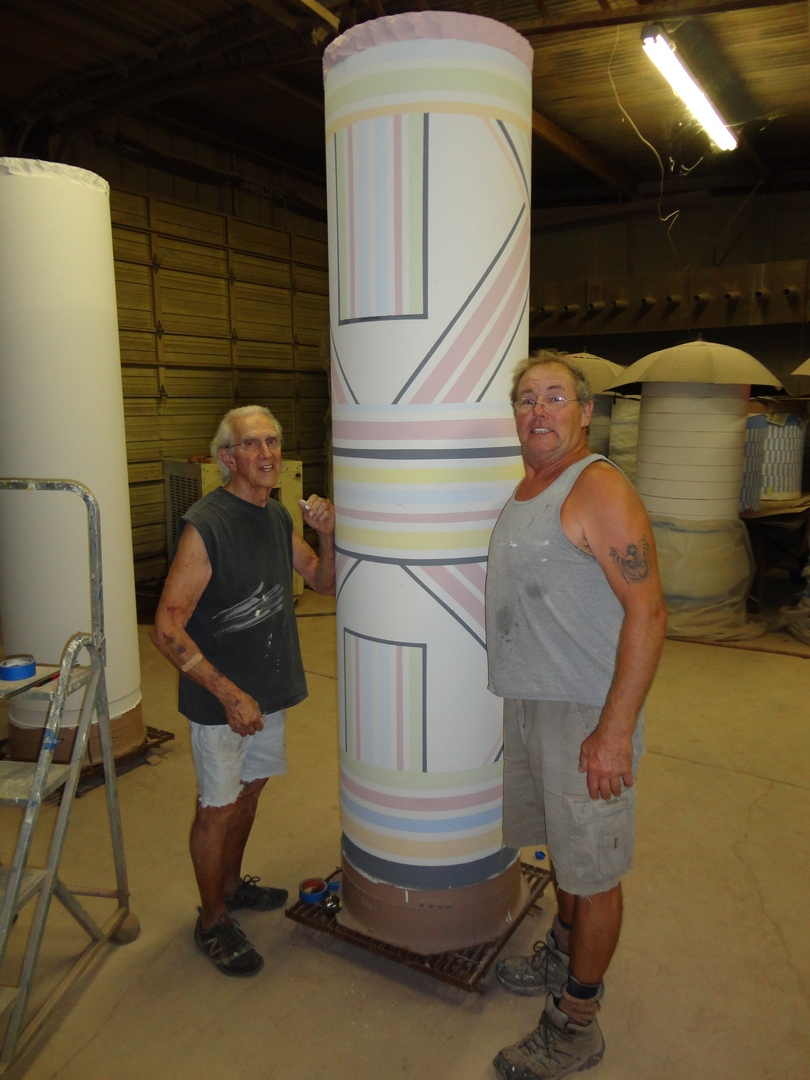 Larry Meagher and Don Reitz, Pattern Column 2011