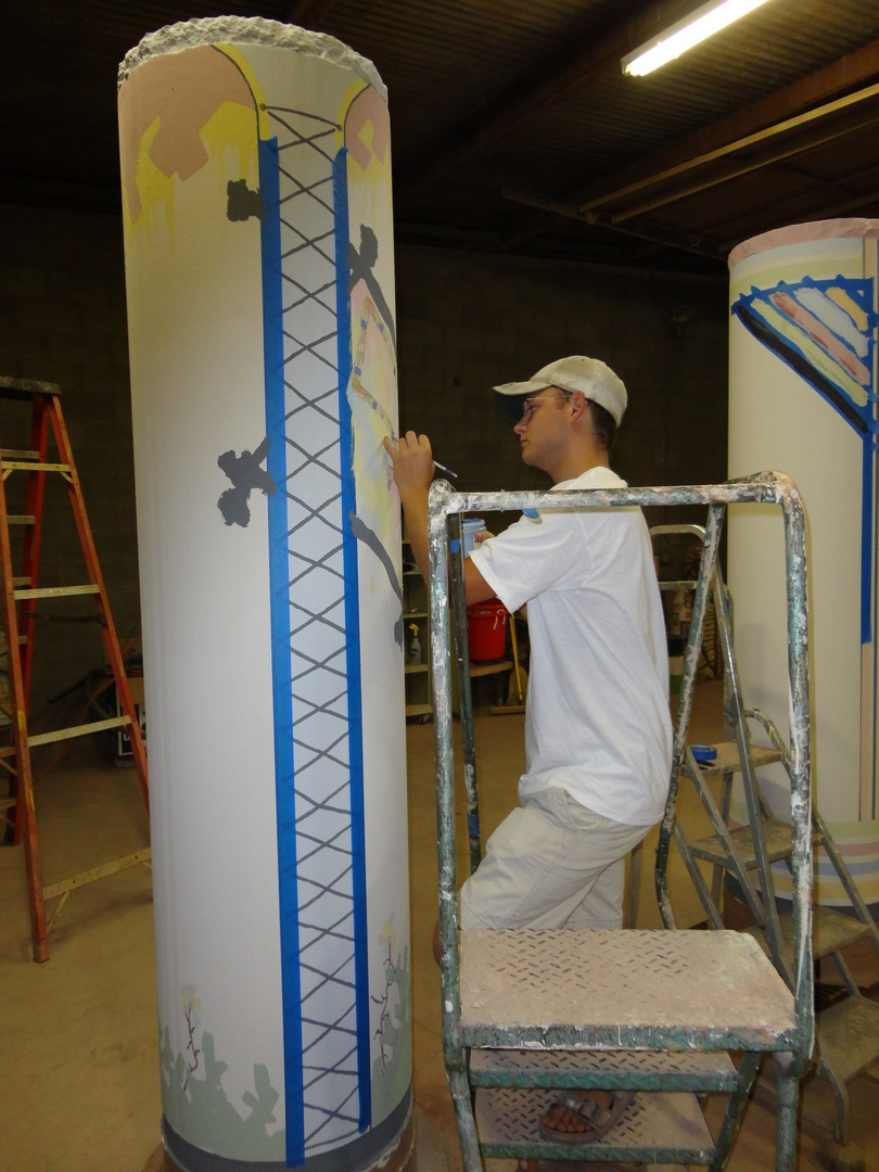 Painting the Column