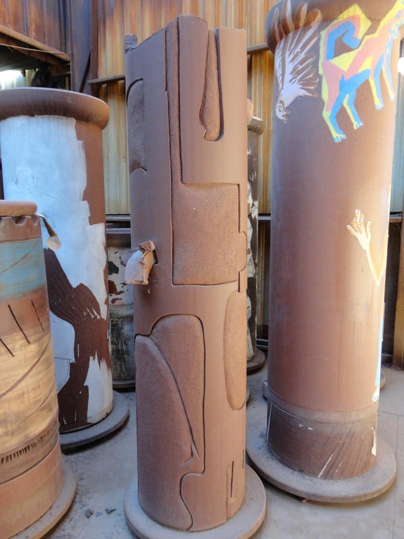 Finished Reitz Column (Middle Column)