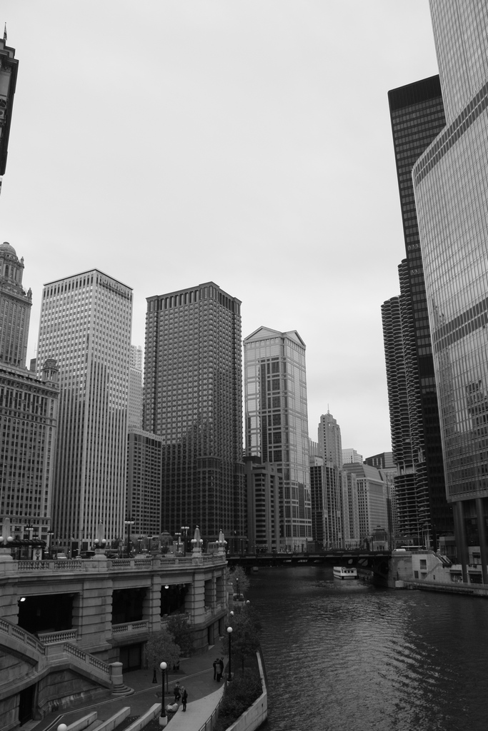 Chicago Michigan Ave Bridge