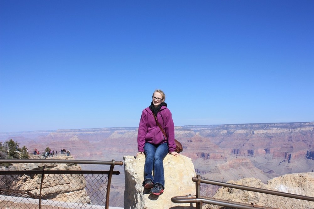 Jessica @ Grand Canyon South Rim 2012