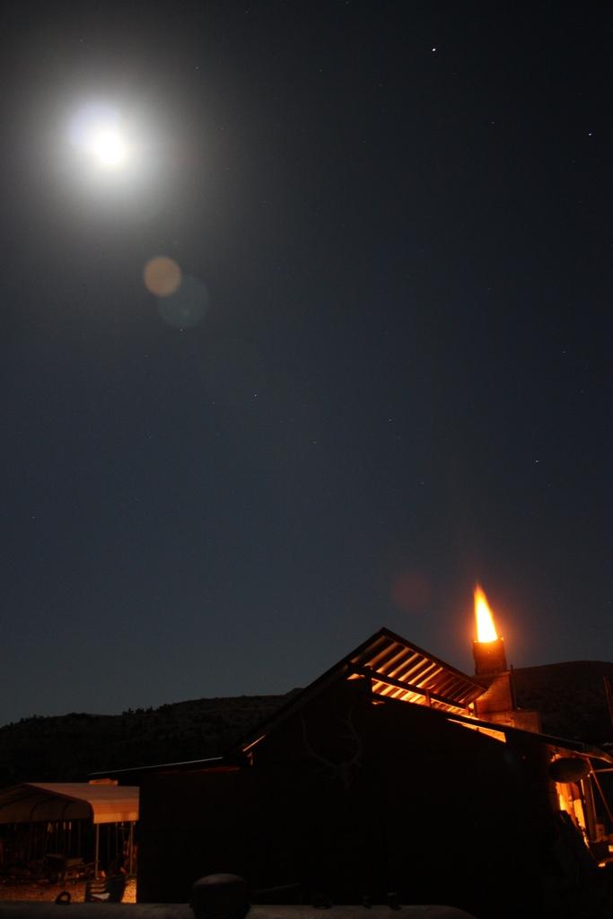 Night Kiln Firing