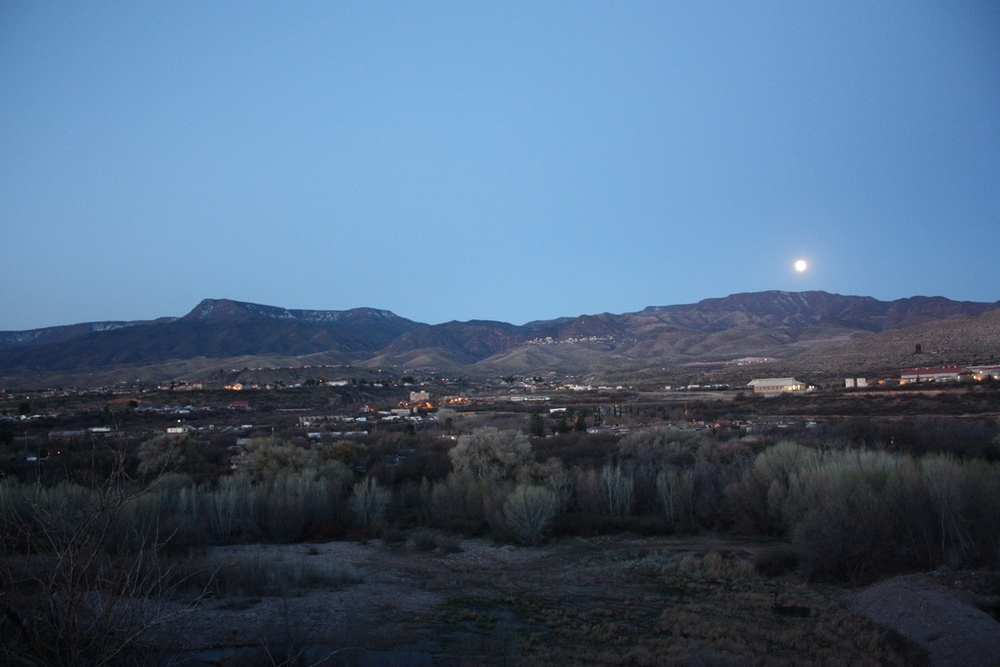 Moon and Clarkdale