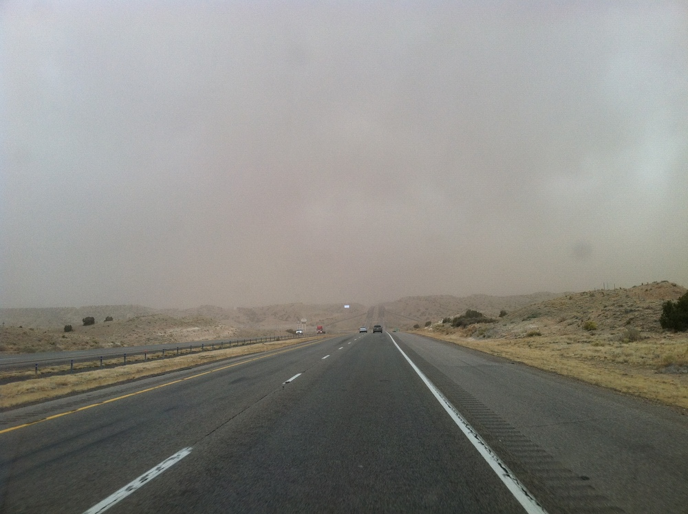 Sand Storm in Albuquerque NM