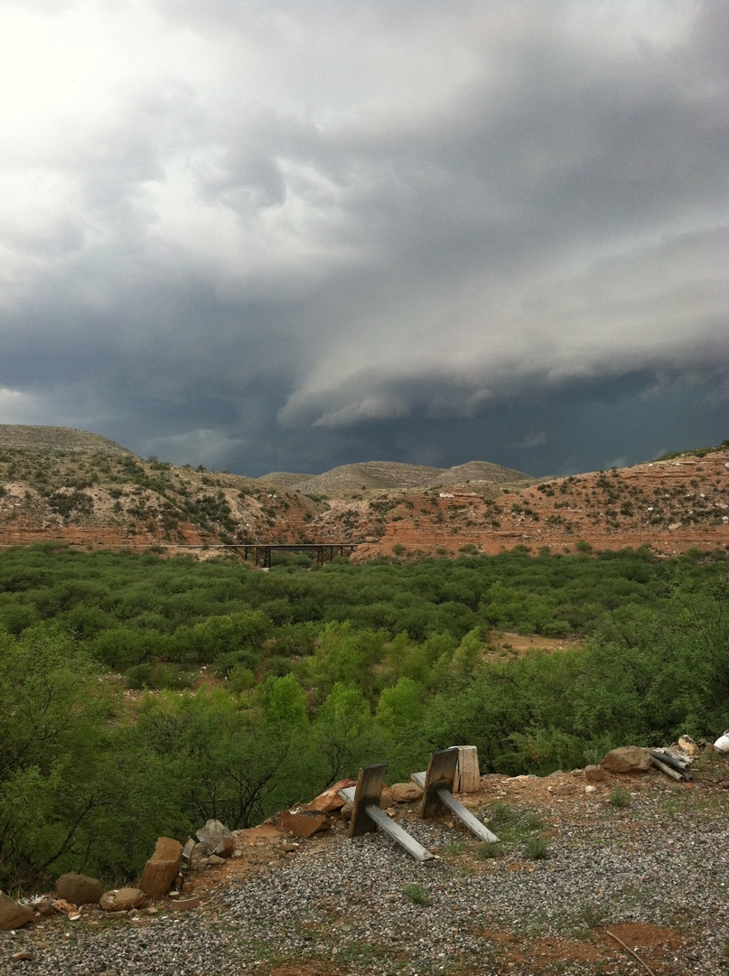 Storm Coming to the Ranch